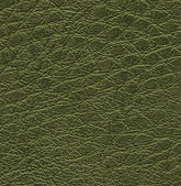 Dark green leather texture — Stock Photo
