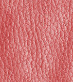 Red leather texture closeup  — Stock Photo