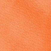 Closeup texture pelle arancione — Foto Stock