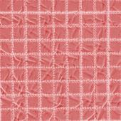 Textile textur. roter hintergrund der zellen — Stockfoto