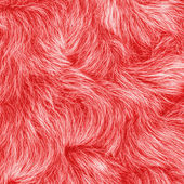 Red fur texture  — Stock Photo