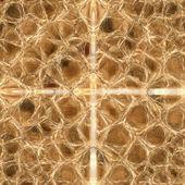Sfondo marrone basato sulla pelle di rettile — Foto Stock