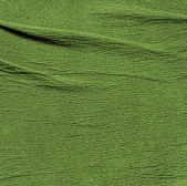 Crumpled green leather texture   — Stock Photo