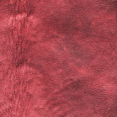 Crumpled red leather texture — Foto Stock