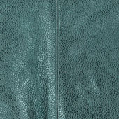 Blue green leather texture — Stock Photo