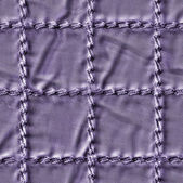 Violet plaid fabric texture closeup   — Stock fotografie