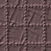 Brown textile closeup, stitch  — Stock fotografie