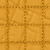 Yellow  plaid fabric texture closeup — Stock fotografie
