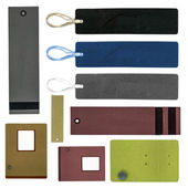 Set of various paper tags   — Stock Photo