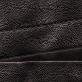 Brown leather and fabric combination — Stock Photo