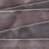 Hnědá kožená pozadí — Stock fotografie