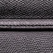 черная кожаная структура — Стоковое фото