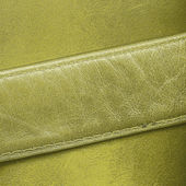 Green leather background — Stock Photo