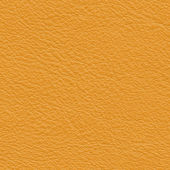 Yellow leather texture closeup — Stock Photo