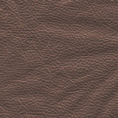 Black crumpled leather — Stock Photo