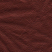 Couro amassado vermelho-marrom — Fotografia Stock