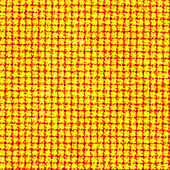 Yellow cellulate background — Stock Photo