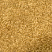 Yellow leather texture — Stock Photo