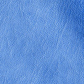 Blue leather texture — Stock Photo