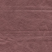 Reddish-brown leather texture — Stock Photo