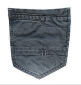 Jeans tasche isoliert — Stockfoto