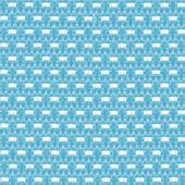 蓝纺织 — 图库照片