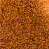 Orange leather — Stock Photo