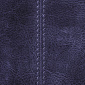 Leather with seam — Stock Photo