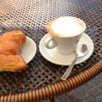 Italian breakfast — Stock Photo