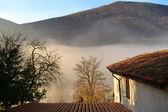 Fog in the mountains — Stockfoto
