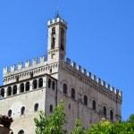 Palazzo dei Consoli - Italy — Stock Photo #46736723