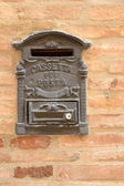 Italian Postbox — Stock Photo