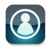 A vector folder icon — Foto de Stock