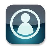 A vector folder icon — Stock Photo
