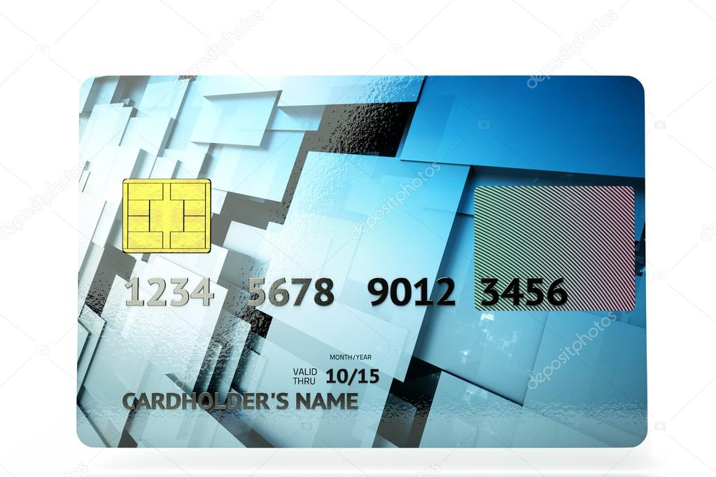 A 3d render of credit card   Stock Photo #18467853