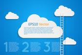 Ladder — Stock Vector
