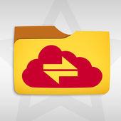 Folder icon — Stock Vector