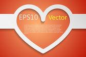 Fondo del corazón — Vector de stock