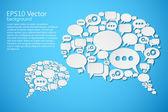 Speech — Stock Vector