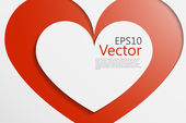 Heart vec — Stock Vector