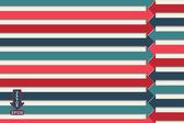 A creative retro arrows background — Stock Vector