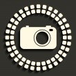 Camera icon — Stock Vector