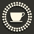 Tea cup — Vector de stock