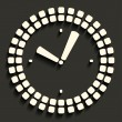 Clock icon — Vettoriali Stock