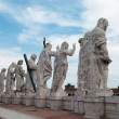 Statues of Jesus and Apostles — Stock Photo