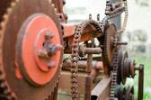 Old Rusty Machinery — Stock Photo
