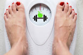 Diet and Fitness - Concept Image — Stock Photo