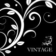 Stock Vector: Vector vintage decor
