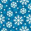 Vector seamless winter pattern — Stock vektor
