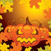 Vector halloween banner — Stockvector